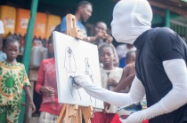 Iwaya Community Art Festival - ICAF, LAGOS 2016 Performance by Yusuf Durodola (33)